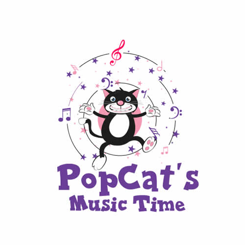 Popcats Music Time Logo