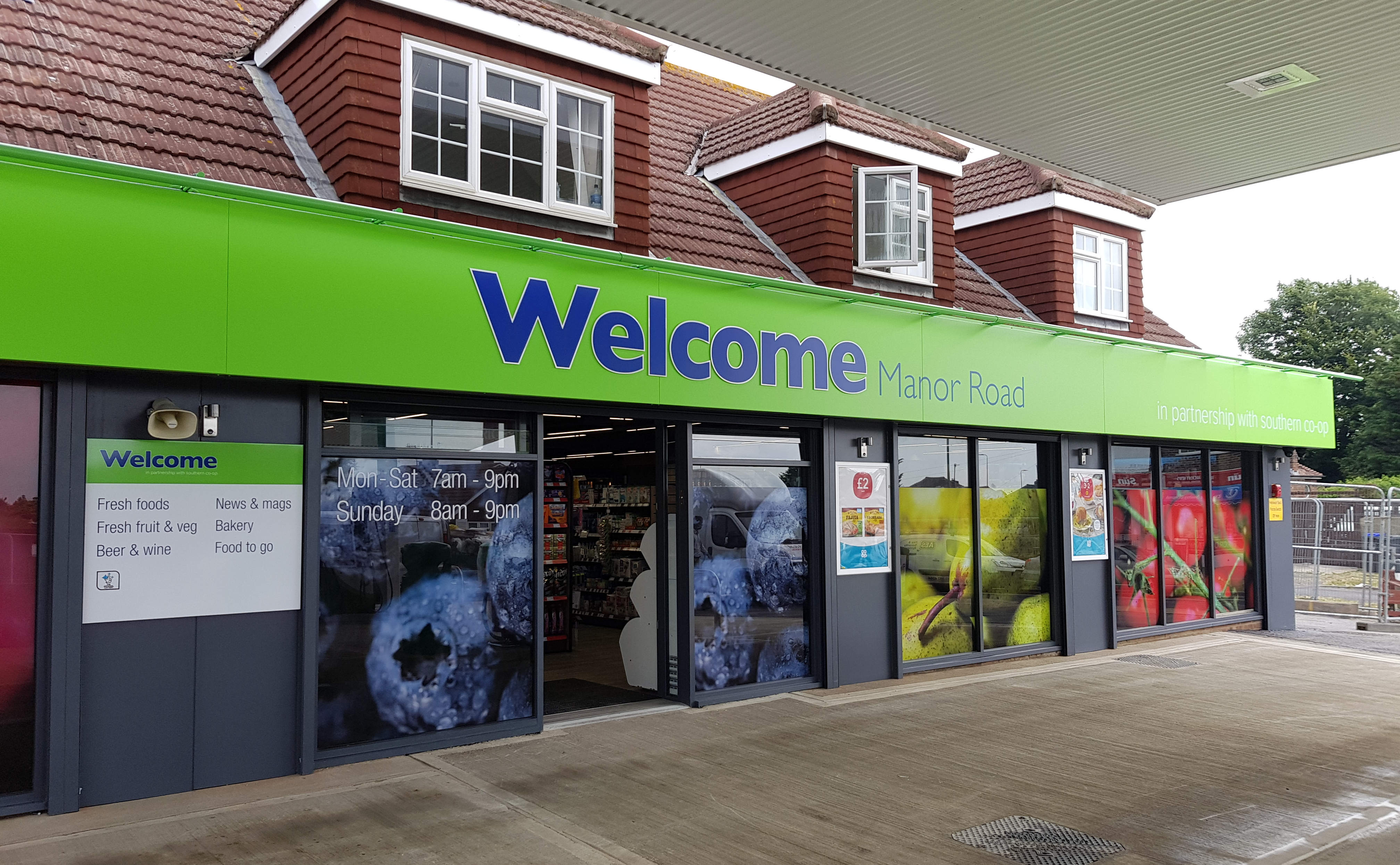 Southern Co-op Welcome