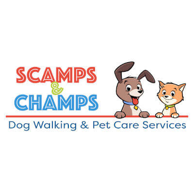 Scamps and Champs Franchise Logo