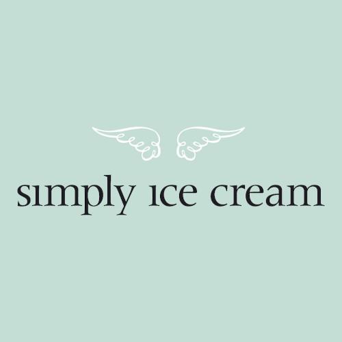 Simply Ice Cream Franchise Logo