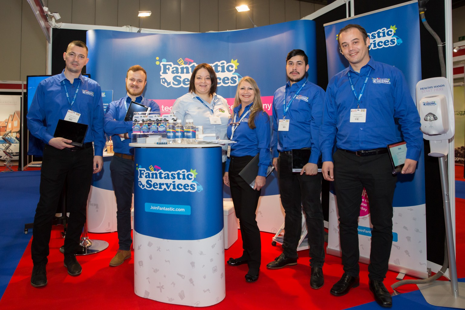 Fantastic Services Show Stand